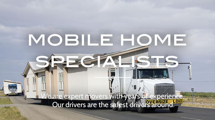 Roberson Mobile Home Movers are experts on the road