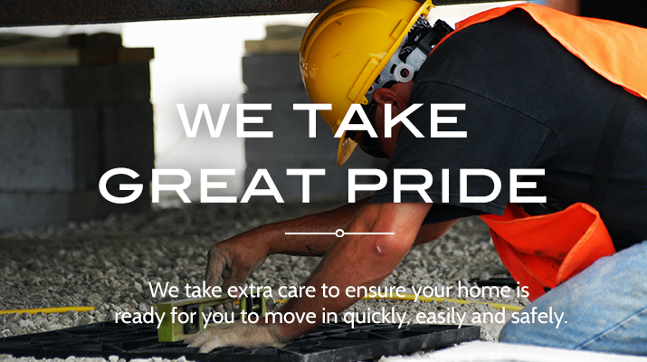 Roberson Mobile Home Movers take care to level your home
